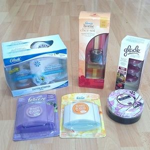 Febreze And Glade Scented Candle Air freshener